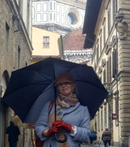 A break from  studying in Florence; enjoying some new found freedom.