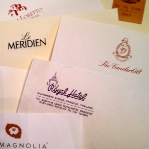 Letterheads that evoke a time and place