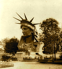 Madame Liberty on display at the World Fair