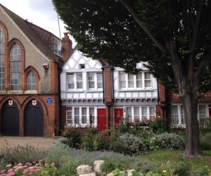 The Red Cross Church that pays homage to Octavia Hill