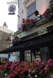 The Builders Arms pub in Kensington on the corner