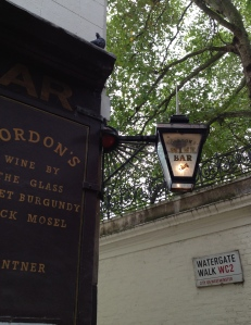 The perfectly aged, Gordon's Wine Bar