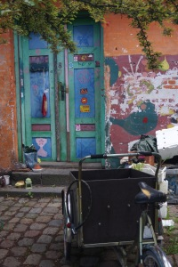 A 'child carrier' in Copenhagen