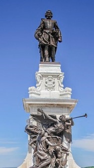 Statue de Samuel-De Champlain, Québec